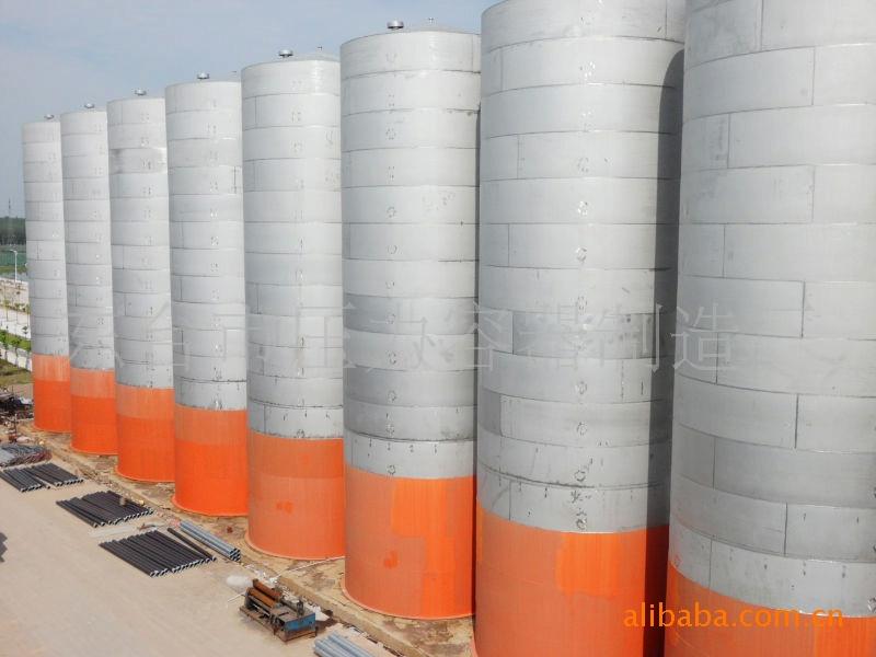 优惠供应,或现场制作大型不锈钢料仓,化纤料仓,塑料薄膜料仓(1)